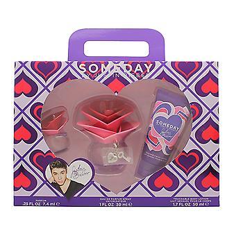 Justin Bieber Someday Gift Set 30ml EDP + 50ml bodylotion + 7,4 ml Mini