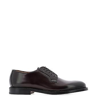 Fabi Fu7745bordeaux Men's Brown Leather Lace-up Shoes