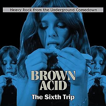 Various Artist - Brown Acid - the Sixth Trip [CD] USA import