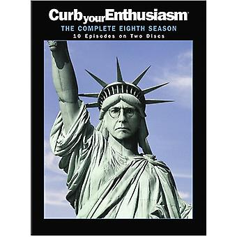 Curb Your Enthusiasm: Saison 8 importation USA [DVD]