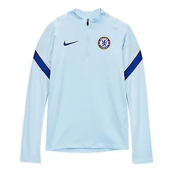 2020-2021 Chelsea Drill Training Top (Light Blue) - Kids