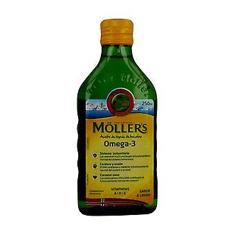 Cod liver oil 250 ml (Lemon)