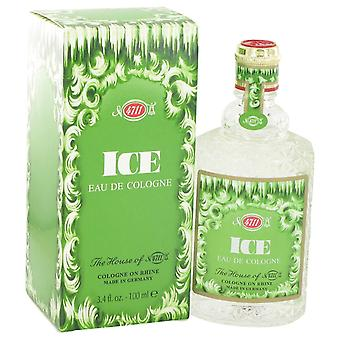 4711 ijs door Maurer & Wirtz Eau De Cologne (Unisex) 3.4 oz/100 ml (mannen)