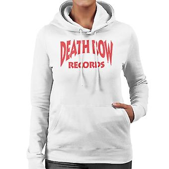 Death Row Records Logo rood vrouwen de Hooded Sweatshirt