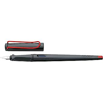 Lamy Joy Calligraphy Fountain Pen - Black/Red