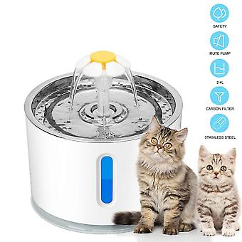 Automatic Pet Cat Water Fountain - Ultra Quiet Usb Dog Drinking Fountain