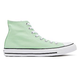 Converse Chuck Taylor All Star Light Green Hi Trainers