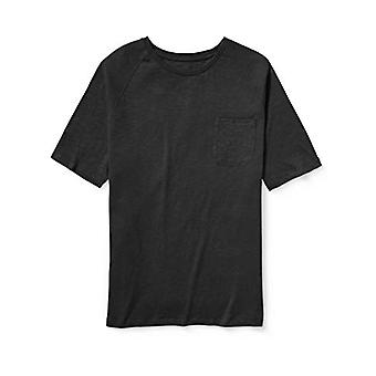 Essentials Men's Big & Tall Short-Sleeve Slub Raglan Crew T-Shirt Shir...