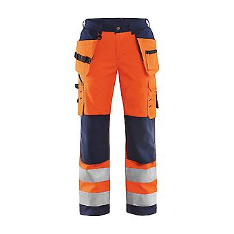 Blaklader hi-vis soft-shell trousers 71672517 - womens