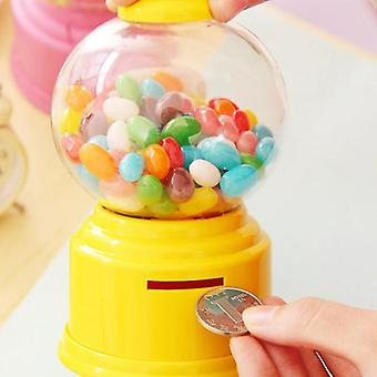 Creative Cute Sweets Mini Candy Machine Bubble Toy - Dispenser Coin Bank