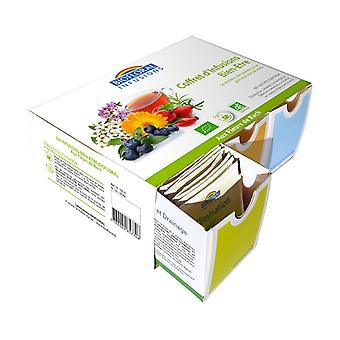 ORGANIC Infusions Box: 60 sachets of 6 great essences 1 unit