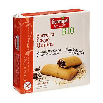 بار الكينوا مليء كريم الكاكاو العضوي الخالي من الغلوتين 180 غ