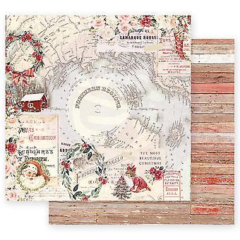 Prima Marknadsföring jul i landet 12x12 Tums Ark norra regioner