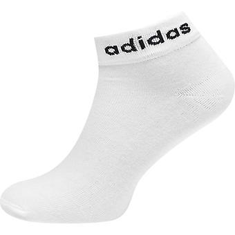 adidas Three Pack Ankle Socks Womens