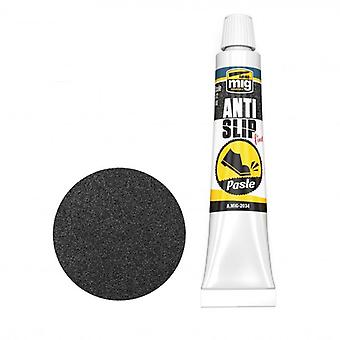 Mig Ammo Anti-Slip Paste - Black Color For 1/72 & 1/48