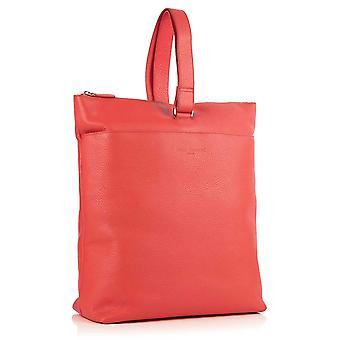 Molly Leather Tote Backpack in Jaipur Pink Richmond Chrome Free Leather