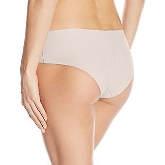 Calvin Klein Women's Invisibles Hipster Panty, nymph's Thigh, Large