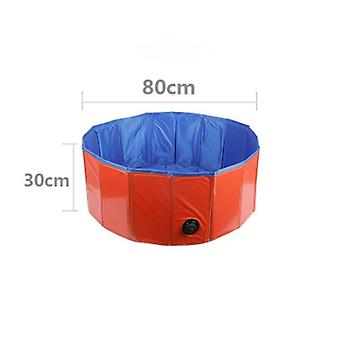 Fence Pools For Kids Playing - Portable Swimming Pool Dogs Cats Bathing Tub