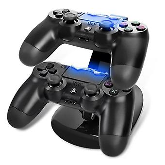 Controller Ladegerät Dock Led Dual Usb Ps4 Ladestand Station Cradle