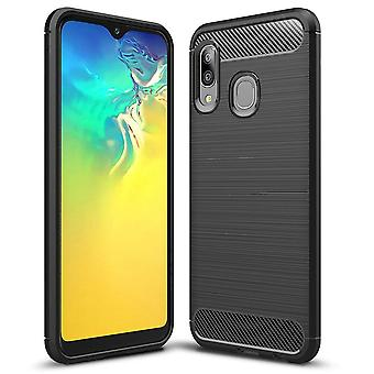 Mobile Protection Rubber for Samsung Galaxy A20e Shockproof Mobile Phone TPU Black