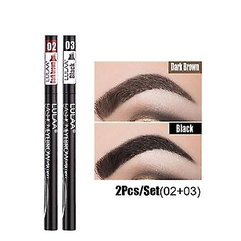 4 Claw Eyebrow Pencil-waterproof And Easy To Wear
