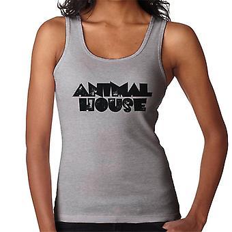 Animal House Svart Logo Kvinnor's Väst