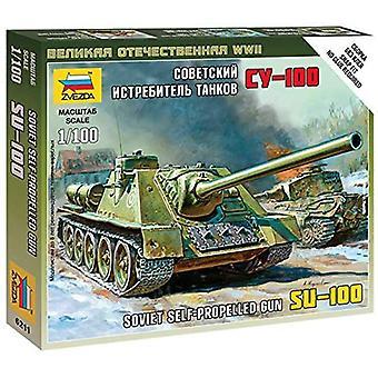 Zvezda Z6211 självgående gun Su-100 Modell Kit