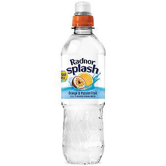 Radnor Splash Orange & Passionfruit Flavoured Water