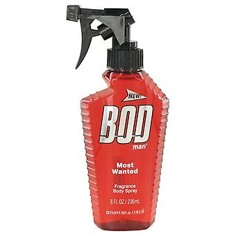 Bod Man Most Wanted Fragrance Body Spray By Parfums De Coeur 8 oz Fragrance Body Spray