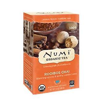 Numi Tea Ruby Chai Spiced Rooibos Tea, 18 bags