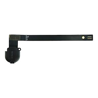 For iPad 7 (2019) - Headphone Jack Flex Cable - Black