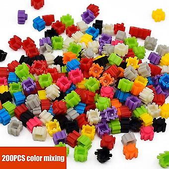 Cartoon Building Mini Blocks Building Brick Toys- Cartoon Characters Teaching's