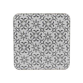 Home Living Grey Geo Coasters x 6 HH1990