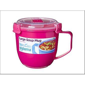 Sistema Soup To Go Mug Assorted 900ml 18021141