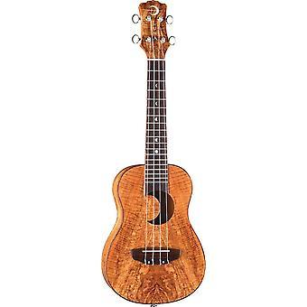 Luna eksoottinen sarja spalt vaahtera konsertti ukulele kanssa puolikuun äänireikä
