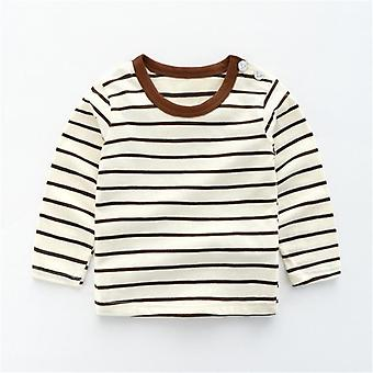 Girls Cotton Animal Print Infants Long-sleeved Top, Toddler Casual Shirts