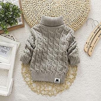 Turtleneck Winter Warm Sweaters For Baby/girl