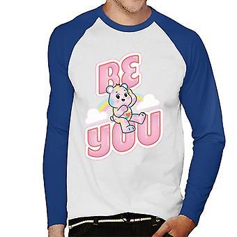 Care Bears Låsa Magic Be You Men&apos, s Baseball Långärmad T-shirt