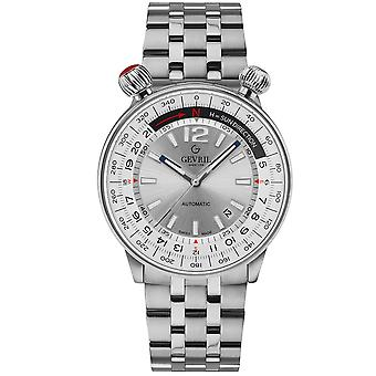 Gevril Men's Wallabout Silver Dial Inoxidless Steel Watch