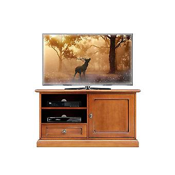 Low-screen TV with 1 door 1 drawer 1 compartment
