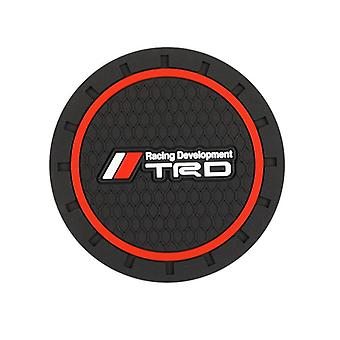 Water Coaster Pad For Toyota Trd Corolla Camry Car Styling Accessories (1pcs)
