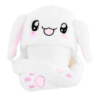 Novelty Magic Rabbit Hat With Moving Ear Plush Toy