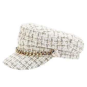 Nový pevný řetěz pás streetwear módní čepice / ženy