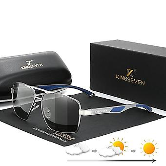 Aluminum Sunglasses Polarized Lens Brand Design Temples Sunglasses