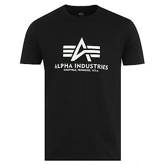 Alpha Industries Kryptonite T-Shirt - Black