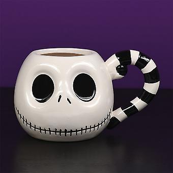 Nightmare Before Christmas 3D Jack Skellington Mug