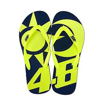 Valentino Rossi VR46 Vr46 Valentino Rossi Sun And Moon Flip Flops Sandals 2019