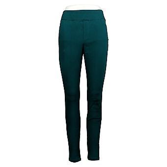 سوزان غرافر Leggings سليم الساق سحب على طماق الخضراء