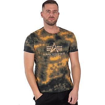 Alpha Industries Men's T-Shirt Basic T Batik