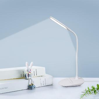 Led Desk Lamp Touch Control 3 tilstande Lysstyrke Eye-caring Led Bordlampe Med